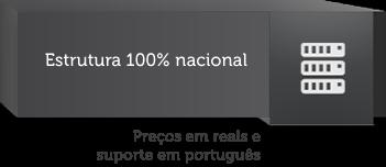Estrutura 100% nacional