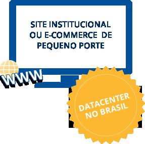 site instituicional ou e-commerce de pequeno porte