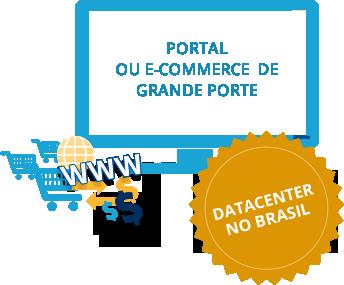 portal ou e-commerce de grande porte